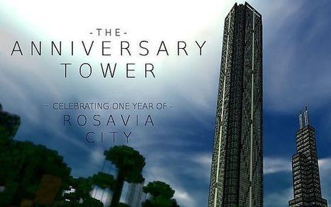 The Anniversary Tower Minecraft Map | Minecraft EON | nini | Scoop.it