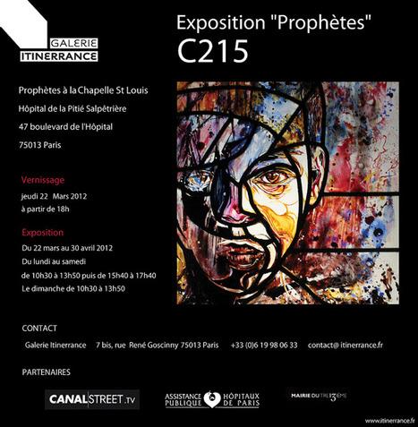 DU STREET ART à L'ART SACRE : C215 S'EXPOSE EN VITRAIL   Art + Graphisme + Design   Scoop.it