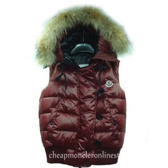 Newest! Women Moncler 'Tarn' quilted Vest with Racoon Fur Trimmed Hood Wine Red [20141413#moncler] - $189.00 : Cheap Moncler Online Store,Cheap Moncler Coats, Moncler Jackets Outlet,Moncler Vests a... | cheapmoncleroutlet2014. | Scoop.it