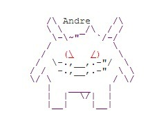 Gengar | Ascii Art | Ascii Art And Haiku | ASCII Art | Scoop.it