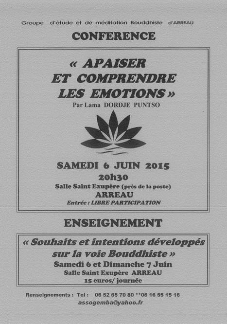 Enseignement bouddhiste à Arreau les 6 et 7 juin | Vallée d'Aure - Pyrénées | Scoop.it