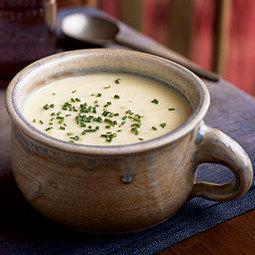 Vichyssoise | MyRecipes.com | Cooking | Scoop.it