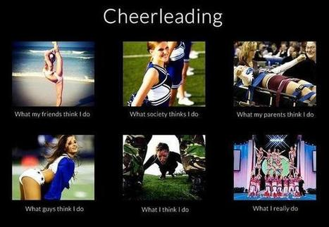 Cheerleading | What I really do | Scoop.it