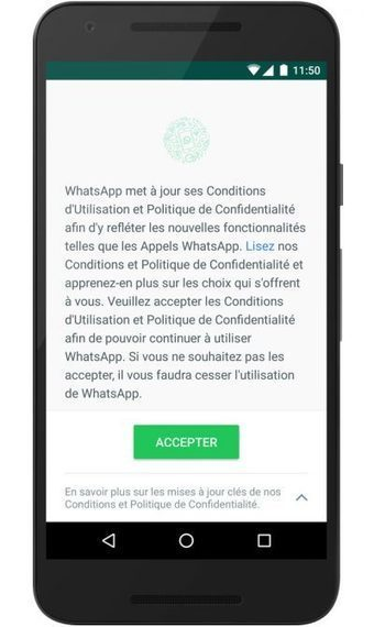 Comment ne pas partager les données entre WhatsApp et Facebook ? | Applications & Co | Scoop.it