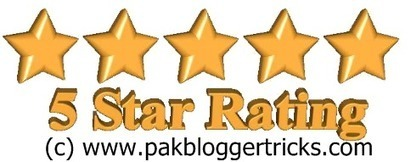 How to Add 5 Star Rating CSS Widget to Blogger | Pak Blogger Tricks l Templates l Widgets l Plugins l Make Money | Scoop.it