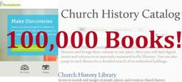 100,000 Family History Books | LDS Media Talk | Latter-day Living | Scoop.it