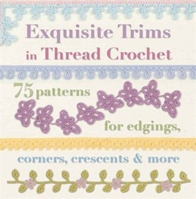 Techniques and Ideas for Crocheting in Exquisite Trims in Thread Crotchet by ... - Books LIVE (blog) | Crochet | Scoop.it
