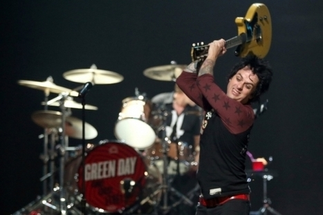 Green Day Won't Rush 'Half-Assed' Album With Billie Joe Out of Rehab... | ...Music Business News... | Scoop.it