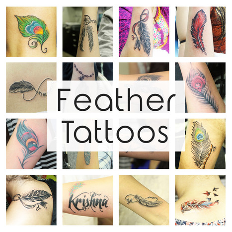 Amazing Feather Tattoos which will encourage you to be Inked Immediately   Black Poison Tattoos   Scoop.it