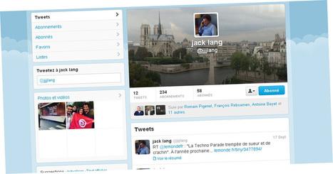 Jack Lang débarque sur Twitter - Europe1 | Twitter, tweets et retweets | Scoop.it