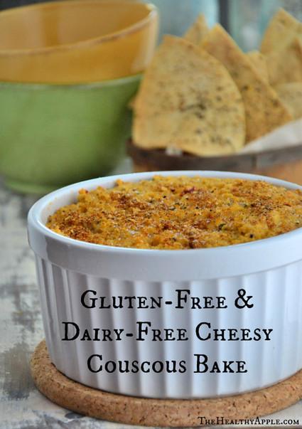 Gluten-Free, Dairy-Free 'Cheesy' Couscous Bake - The Healthy Apple | Vegan Top 10 | Scoop.it