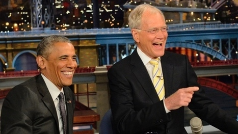 Obama jokes with Letterman about post-retirement life   Retirement Planning & Dreaming   Scoop.it