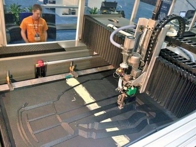 Fast Car: Working Carbon Fiber Car 3D Printed in 44 Hours | It Used to be Science Fiction | Scoop.it