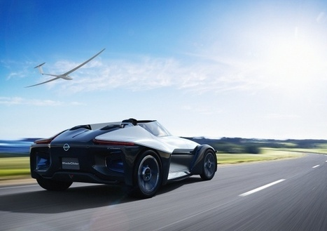 Nissan Jumps into To Futuristic Electric Sports Car Race with the BladeGlide | Nissan Cars | Scoop.it
