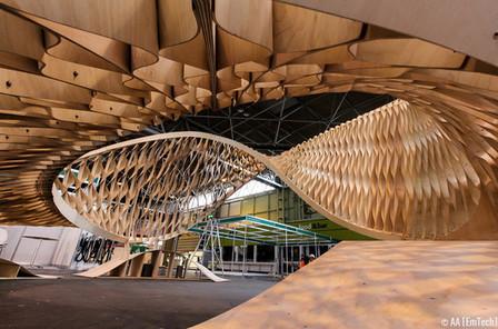 El proyecto 'The TWIST' de EmTech en la 'Timber Expo' de Birmingham | retail and design | Scoop.it