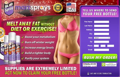 Why Media Celebrity Talking About Marz Slim Spray - Slim Spray Reviews | Marz Slim Spray - Formulated to burn fat | Scoop.it