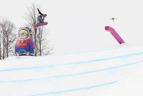 Drone in Sochi shooting live Olympic TV, not terrorists, as sneaky machines find new uses | sUAS News | UAV | Scoop.it