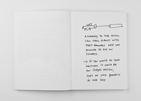 It's Nice That : Publication: A little sketchbook of simple, great ideas by Helmut Smits | doodling | Scoop.it