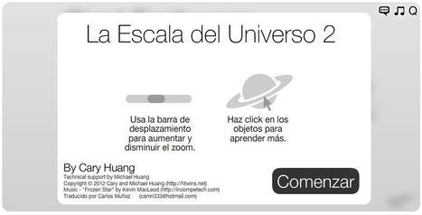 La Escala del Universo 2 | Noticias, Recursos y Contenidos sobre Aprendizaje | Scoop.it