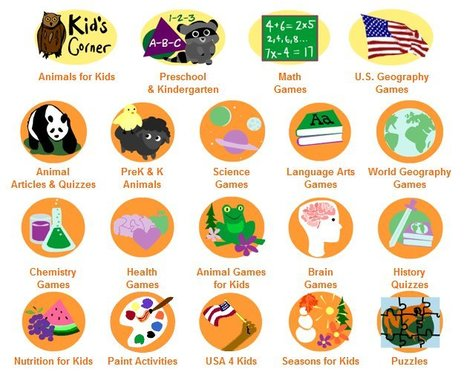 Fun free online learning games and activities for kids. | Great Teacher Tool Sites | Scoop.it