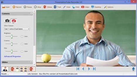 Grabar presentaciones académicas con una herramienta gratuita | Educar con las nuevas tecnologías | Scoop.it