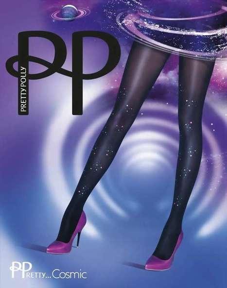 Trendy pantys met versiering PPretty ... Cosmic van Pretty Polly swart, maat one size   pantys-boutique.nl   Pantys Kousen   Scoop.it