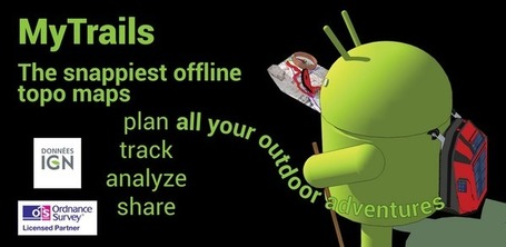 MyTrails - Applications Android sur Google Play | Android Apps | Scoop.it