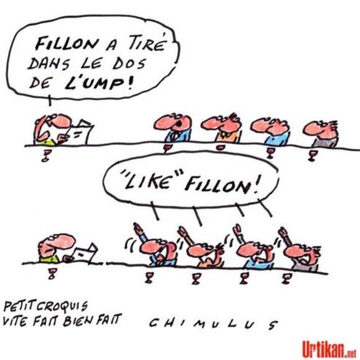 Fillon divise l'UMP après ses propos sur le FN | Baie d'humour | Scoop.it