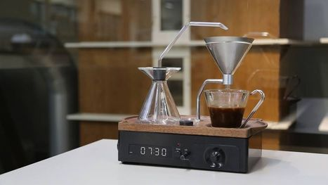 Coffee-Brewing Alarm Clock Makes Early Mornings More Bearable | Coffee Makers | Scoop.it