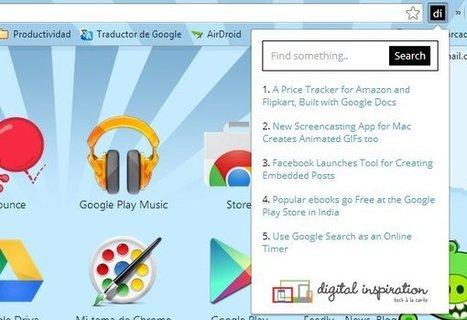 Cómo crear una extensión de Chrome de tu sitio web | Recull diari | Scoop.it