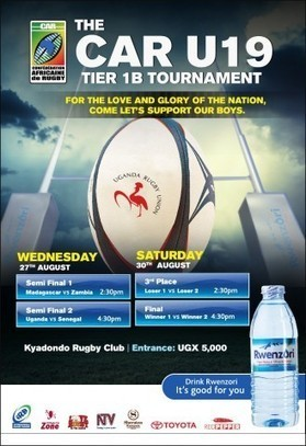 CONFEDERATION OF AFRICAN RUGBY (CAR) U19 TOURNAMENT | Classifieds Advertisng Forex | Scoop.it