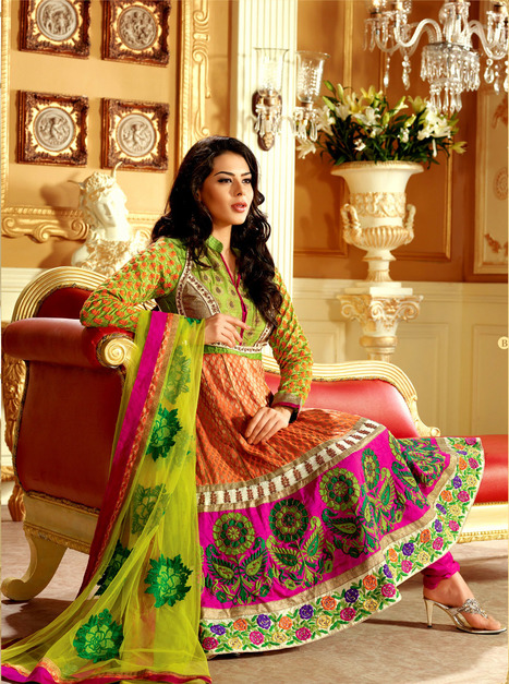 Buy Anarkali Suits | Latest Salwar Kameez | Scoop.it