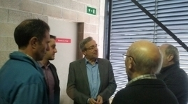 Xavier Sabaté, ha visitat avui les instal·lacions del complex Vilarenc Aqua, a Segur de Calafell. | Sostenibilitat PSC | Scoop.it