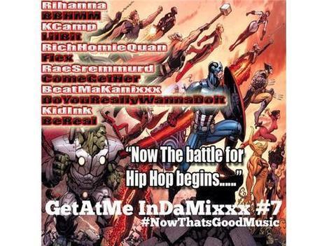 GetAtMe InDaMixxx ft Rihanna BBHMM tonight @11PM on blogtalkradio.com | GetAtMe | Scoop.it