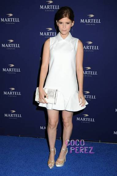 Kate Mara Is Wonderful In White At The Martell Caractere Cognac Launch | Martell Caractere Launch Event in L.A. | Scoop.it