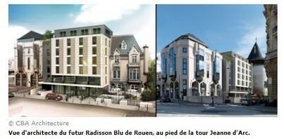Les premières images du futur hôtel de luxe près de la gare de Rouen | Da Rouen et zalentours | Scoop.it