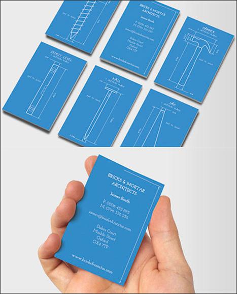 10 Originales tarjetas de visita para arquitectos   COMUNICACIONES DIGITALES   Scoop.it