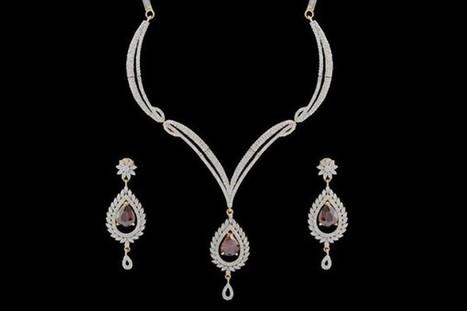 American Diamond Bridal Set- Glitz Redefined | Gifting Zone | Scoop.it