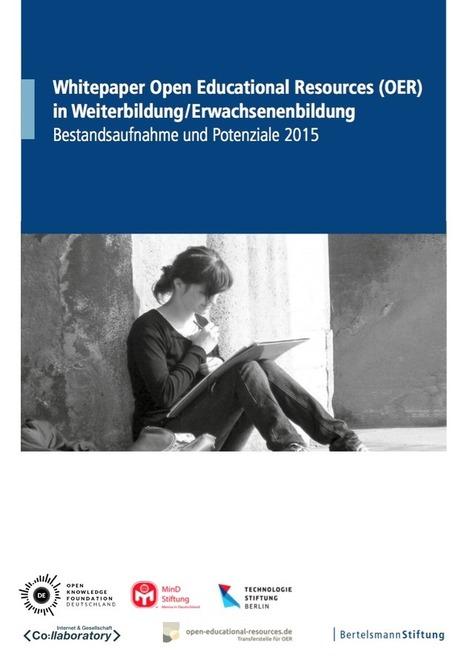OER Whitepaper für Weiterbildung und Hochschule | Zentrum für multimediales Lehren und Lernen (LLZ) | Scoop.it