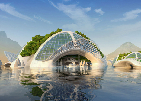 Vincent Callebaut imagine une ville écoresponsable sur l'eau | L'hydrogène énergie | Scoop.it