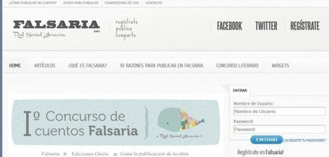Falsaria – Una red literaria para publicar nuestras historias | NTICs en Educación | Scoop.it