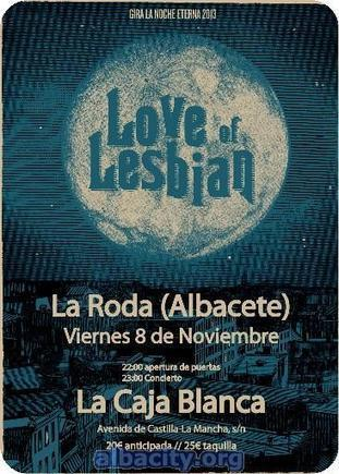 Concierto de Love of Lesbian en La Roda | feria de albacete | Scoop.it