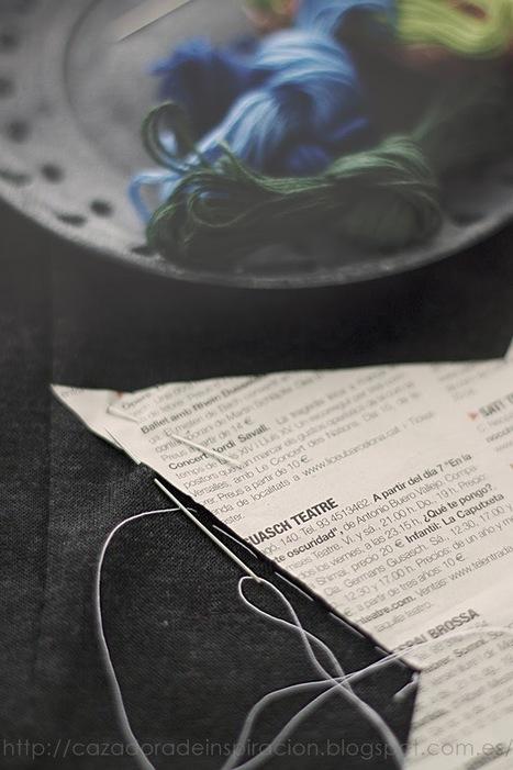Cazadora de inspiración: Embroidered star.   GoGetter   Scoop.it