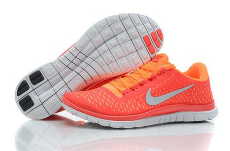 Nike Free 3.0 v4 Mens Orange Red Cheap Online Sale | Mens Free Runs 3.0 V4 For Cheap | Scoop.it