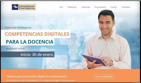 Diplomado en Competencias Digitales para la Docencia | RedDOLAC | Scoop.it