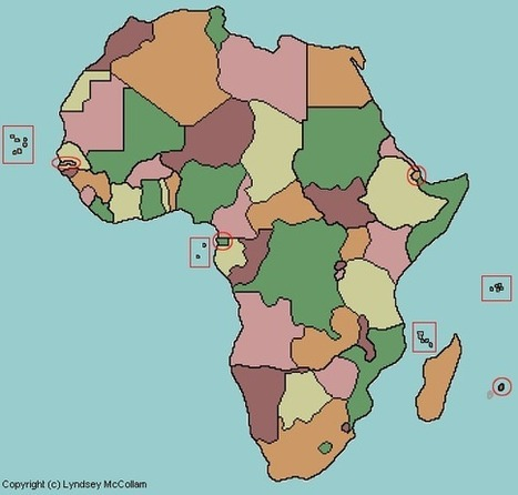 Test your geography knowledge: African geography quiz   Stark Geography   Scoop.it