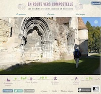 Le webdocumentaire En route vers Compostelle | Interactive & Immersive Journalism | Scoop.it