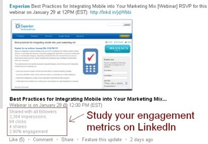 8 Ways to Get More Leads for Your Business on LinkedIn | Social Media Examiner | DV8 Digital Marketing Tips and Insight | Scoop.it