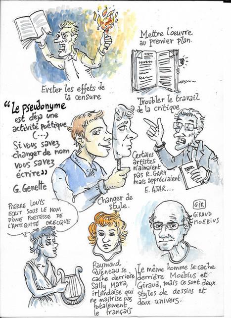 Pseudos et personnages virtuels pour développer la créativité | Infos CDI | Scoop.it