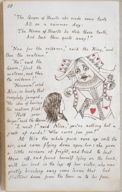 See The Original Alice In Wonderland Manuscript, Handwritten & Illustrated By Lewis Carroll (1864)   Literary   Scoop.it
